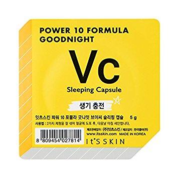 It's Skin Power 10 Formula Goodnight Vc Sleeping Capsule