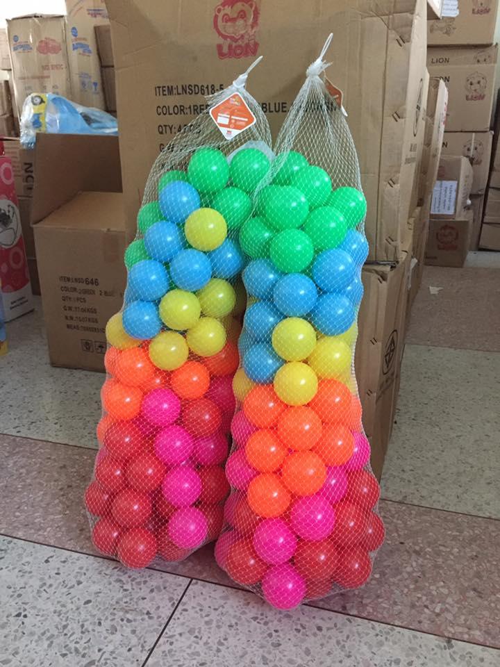 ลูกบอลสี คุณภาพดี