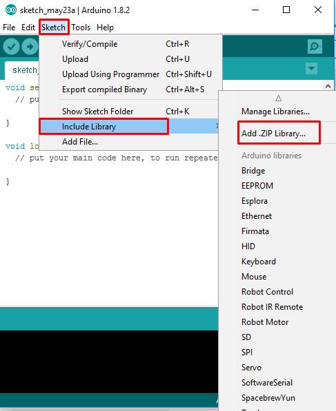 การติดตั้ง External Library ใน Arduino IDE - The Maker