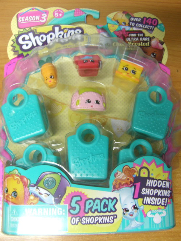 Shopkins S-3 pack 5