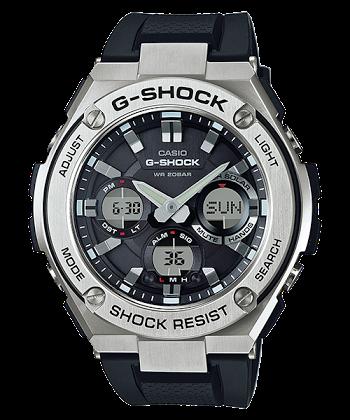 นาฬิกา CASIO G-SHOCK G-STEEL series รุ่น GST-S110-1A ของแท้ รับประกัน 1 ปี