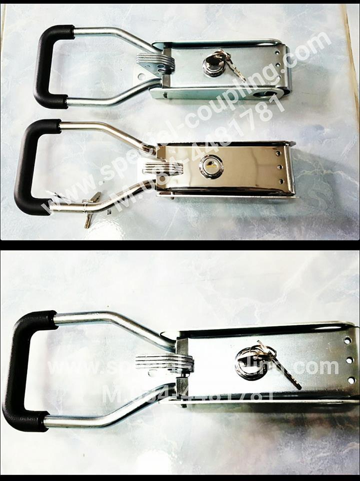 จำหน่ายด้ามมือจับมีกุญแจชนิดเหล็กและsus304 ติดรถห้องเย็น