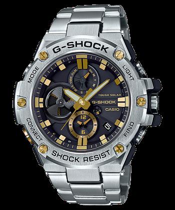 นาฬิกา Casio G-Shock G-STEEL wtih Blutooth series รุ่น GST-B100D-1A9 ของแท้ รับประกันศูนย์ 1 ปี