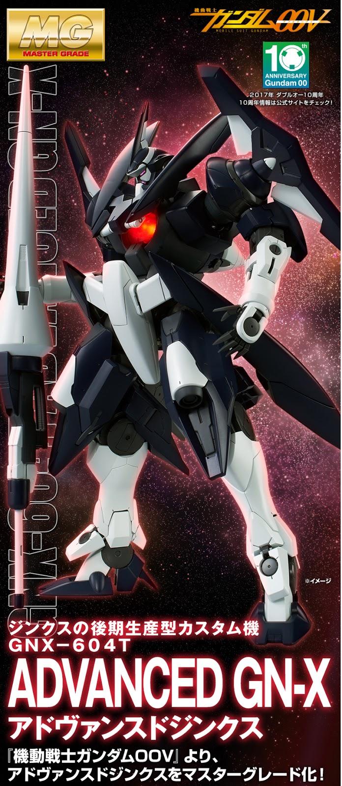 P-Bandai MG 1100 GNX-604T Advanced GN-X