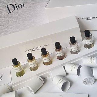 a Collection Privée: Christian Dior Set คริสเตียนดิออร์สร้างประสบการณ์ที่ไม่ซ้ำใครในการผลิตคิดค้นปรุงแต่ง La Collection Privée มาเป็นคอลเลกชั่นที่สวยงาม สร้างขึ้นโดย Francois Demachy (Dior's Perfume-Creator) and inspired by the unique heritage of Dior. แร