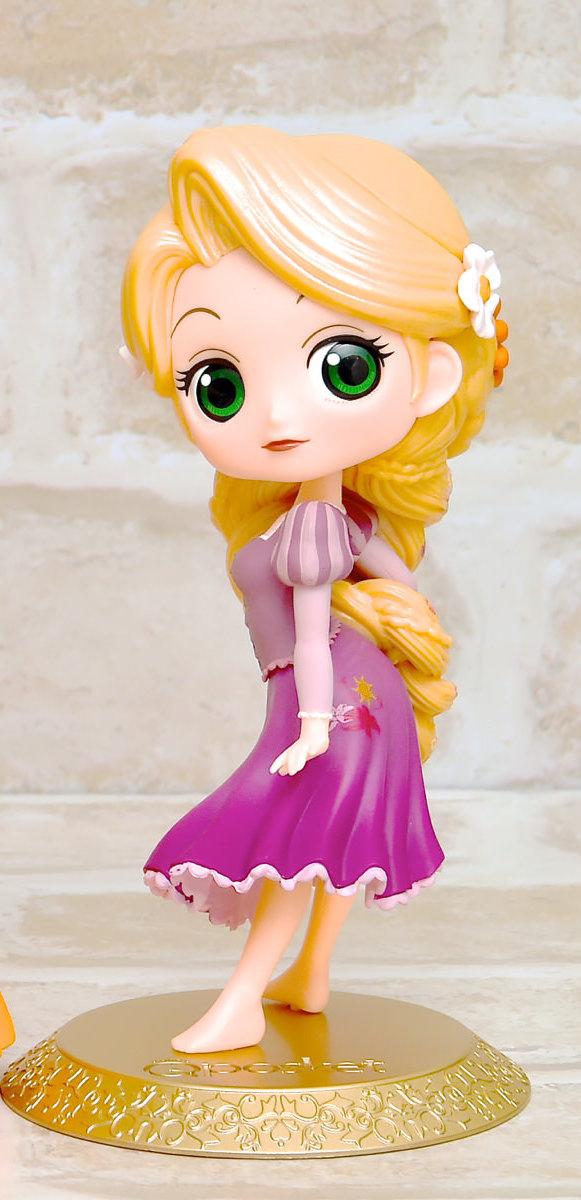 Rapunzel ของแท้ JP - Q Posket Disney - Special Color [โมเดล Disney]