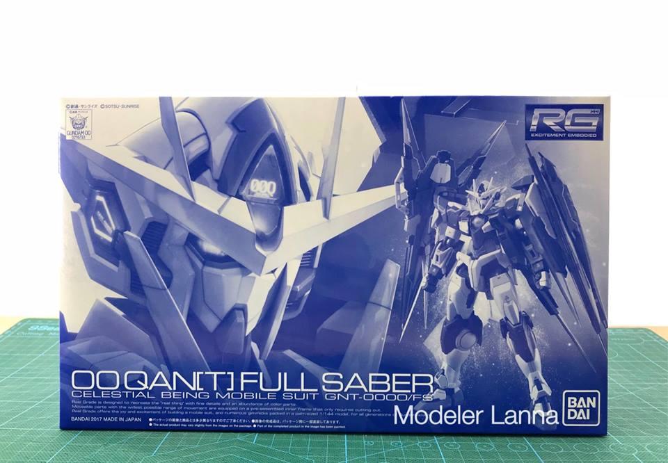 P-BANDAI RG 1/144 OO QAN(T)FULL SABER