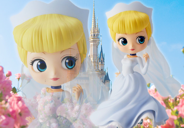 Cinderella Dreamy ของแท้ JP - Q Posket Disney - Normal Color [โมเดล Disney]