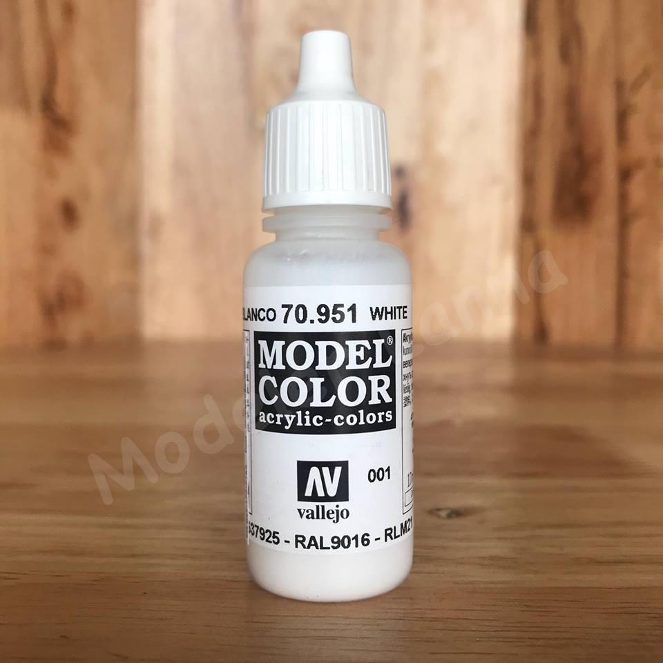 MODEL COLOR WHITE 001