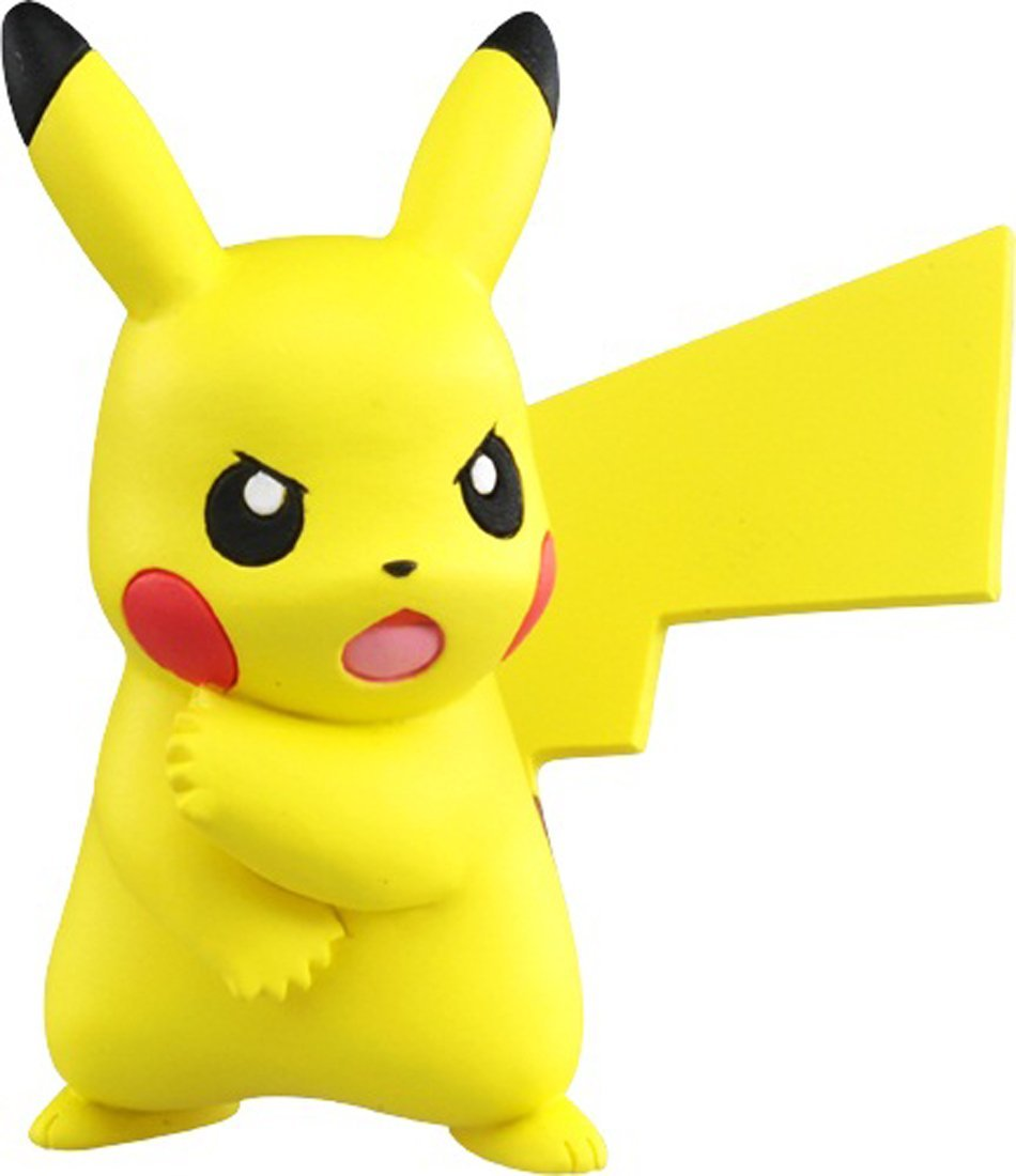 Pikachu ของแท้ JP - Takara Tomy Moncolle EX [โมเดลโปเกมอน] (ปิกาจู)