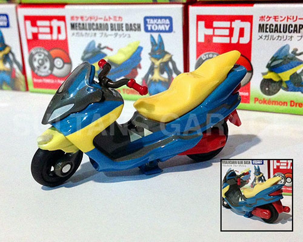 Mega Lucario Blue Dash ของแท้ JP - Takara Tomy [ของเล่นโปเกมอน]