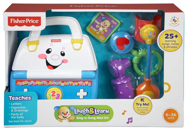 ชุดกระเป๋าคุณหมอ Fisher-Price Laugh & Learn Sing-a-Song Med Kit ของแท้ ส่งฟรี