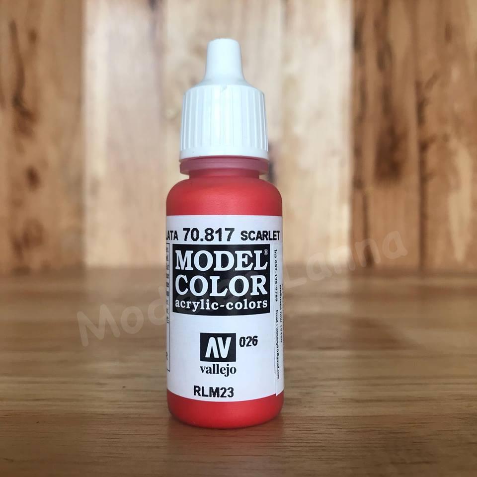 MODEL COLOR SCARLETN 026