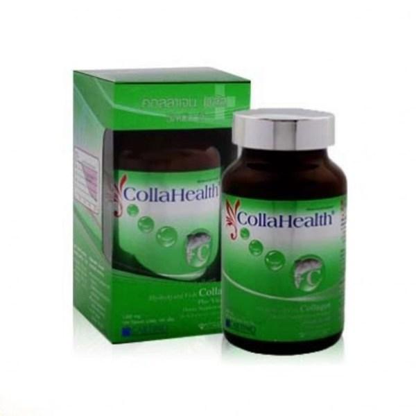 CollaHealth Collagen Plus Vitamin C คอลลาเฮลท์ คอลลาเจน พลัส วิตามิน ซี ชนิดเม็ด