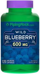 บำรุงเซลล์สมอง ใช้สายตาหนัก (ผลบลูเบอร์รี่ป่า) 600 mg   120 แคปซูล