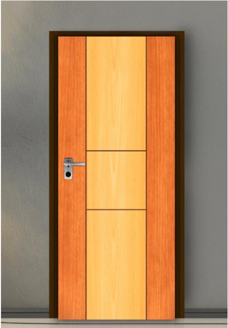 ประตู Leo iDoor Series2 LW-21-Royal Beech Cherry(ภายใน) 3.4*80*200 เมตร