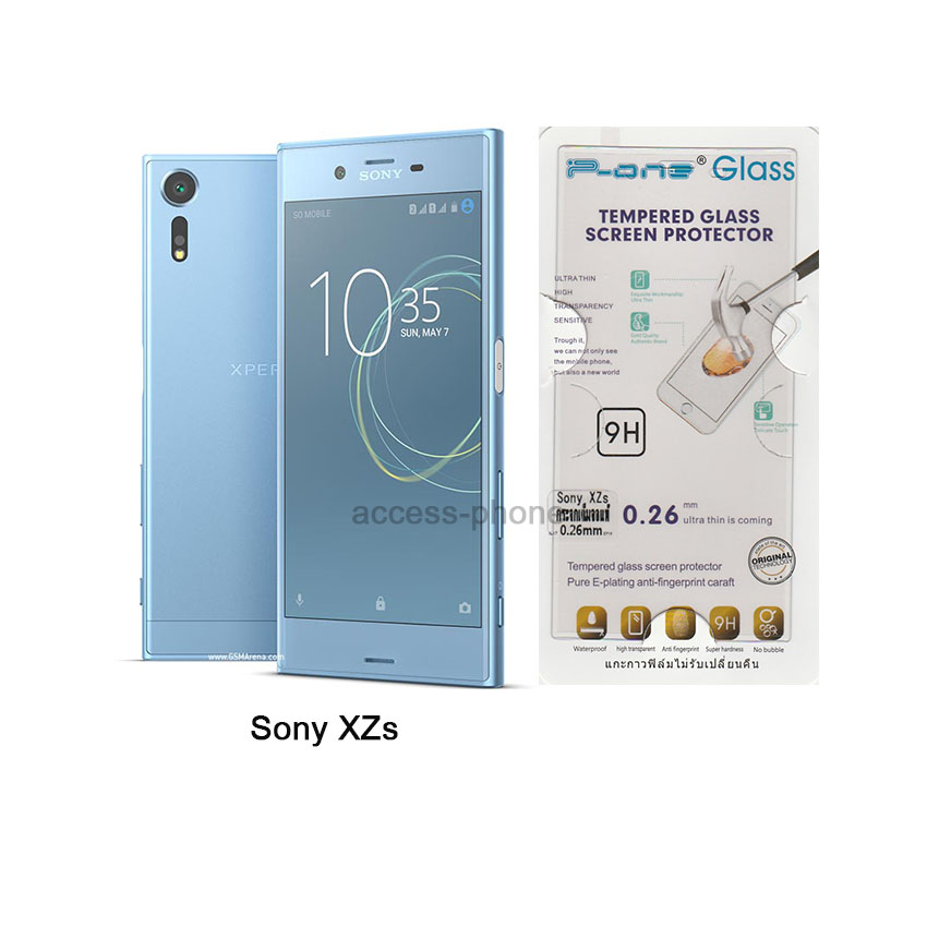 P-one ฟิล์มกระจก Sony XZs เต็มจอสีใส