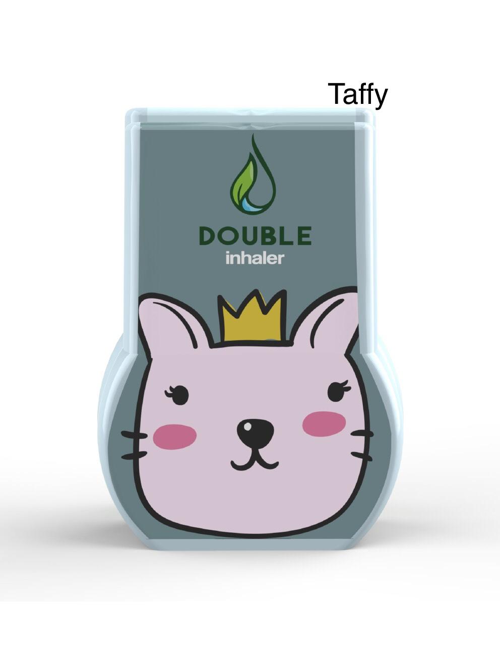 ยาดมดับเบิ้ล แบบ 2 รูดม หอม .. สดชื่น ไม่เหมือนใคร ลาย Taffy (แมวหนุ่ม)
