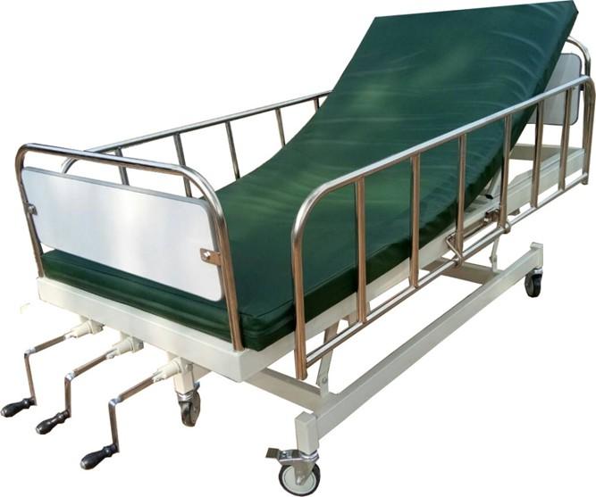 PS11 เตียงผู้ป่วย 3 ไกร์ (พื้นเหล็ก)