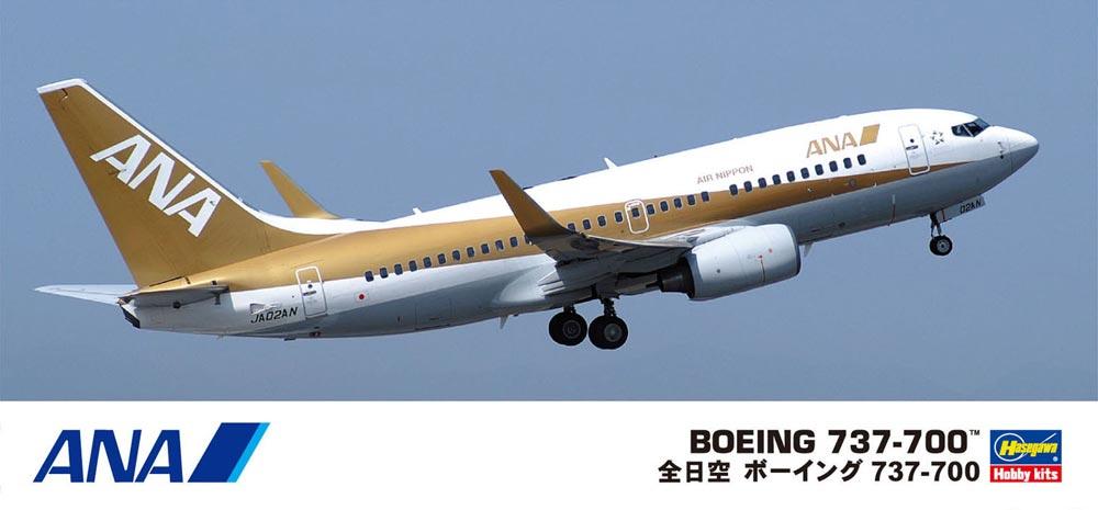 เครื่องบินพานิชย์ Boeing 737-700 ANA 1:200 จาก Hasegawa
