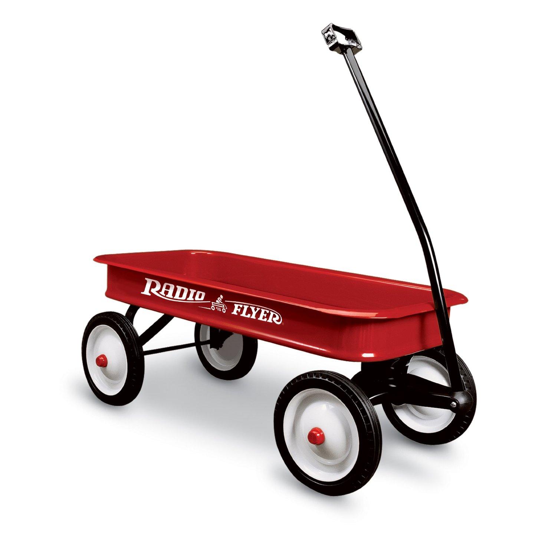 รถเข็นสี่ล้อ Radio Flyer Classic Red Wagon แข็งแรง ทนทาน ทำจากเหล็กทั้งคัน