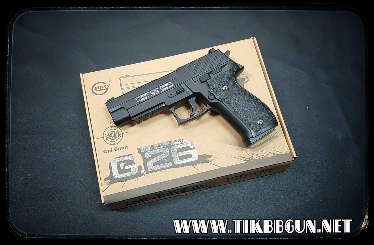 ปืนก็องแก๊ง ชักยิงทีล่ะนัดด้วยสปริง G26