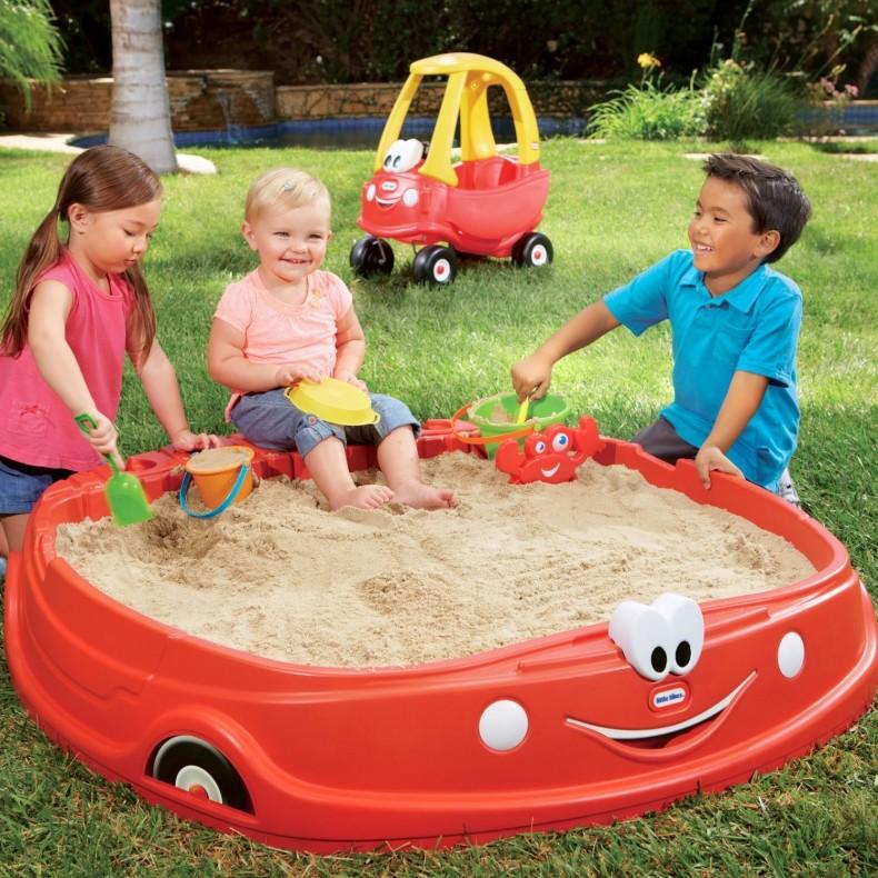 กระบะทรายขนาดใหญ่ Little Tikes Cozy Coupe Sandbox ออกใหม่ล่าสุด ไม่ซ้ำใคร