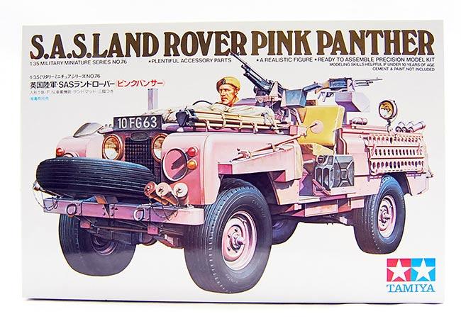 รถ S.A.S.Land Rover Pink Panther (1/35) TAMIYA (TA 35076)