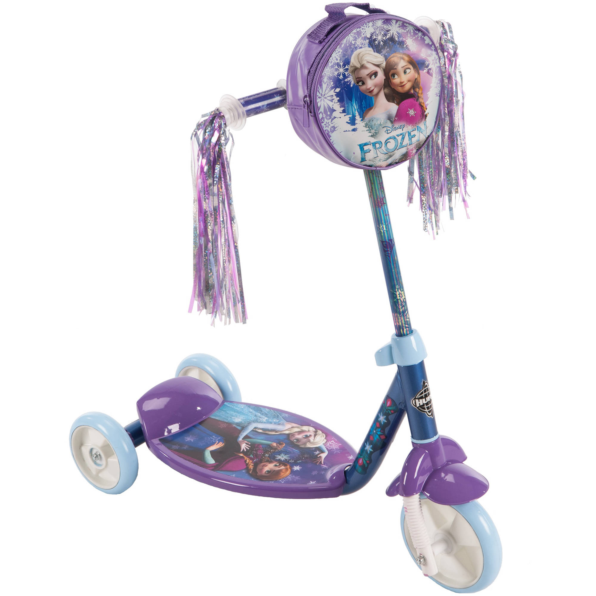 สกูเตอร์ โฟรเซ่น Huffy Disney Frozen Preschool 3-Wheel Kick Scooter