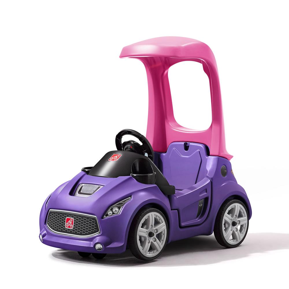 รถขาไถเปิดประทุน สุดเท่ห์ Step2 Turbo Coupe Ride-On ทรงสปอร์ต สุดล้ำ เหนือใคร สีม่วง