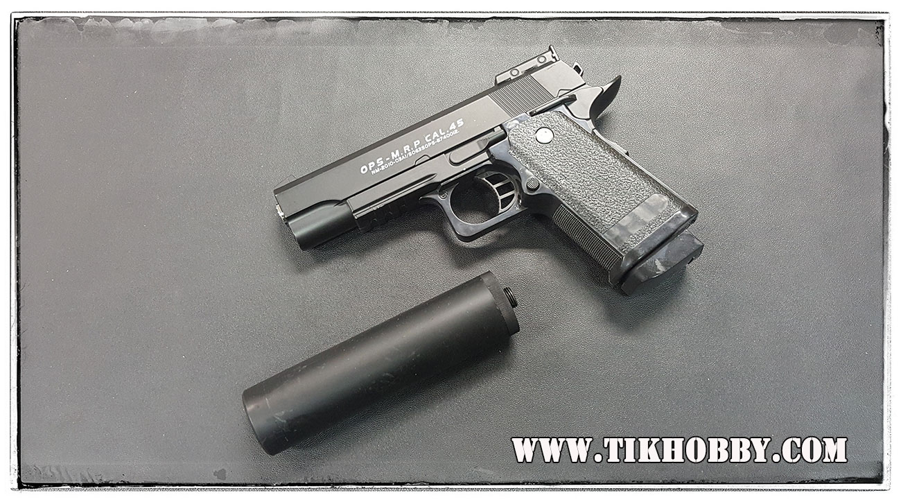 ปืนอัดลมแบบชักยิงทีล่ะนัด D1A ขนาด 2:3