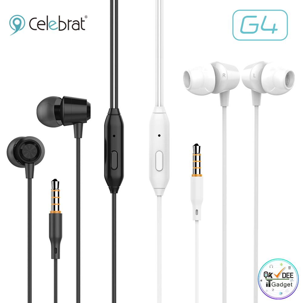 หูฟังเสียงดี แนะนำ ใส่สะบาย Celebrat G4