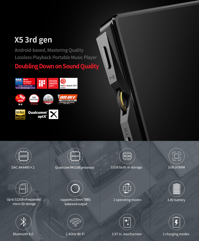FiiO X5 3rd Gen