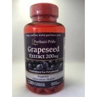 Puritan Grapeseed extract 200 mg พูริแทน สารสกัดจากเมล็ดองุ่น