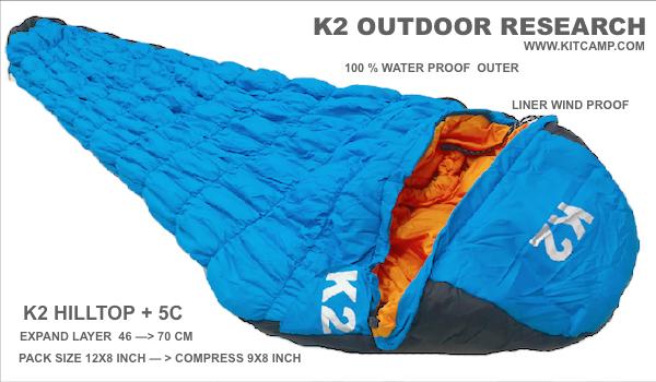 ถุงนอน K2 HILLTOP 10 FAST WARMER