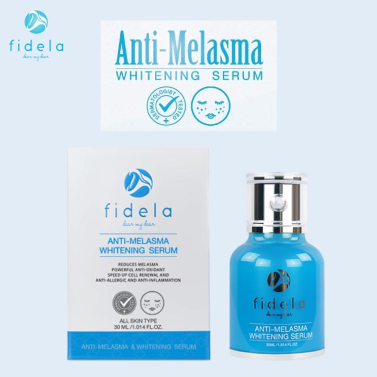 FIDELA ANTI-MELASMA & WHITENING SERUM