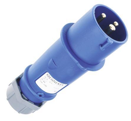 ปลั๊กตัวผู้ รุ่น AM-TOP ระบบสกรู-บอดี้เกียว IP44 16Amp ขั้ว 2+E 230V