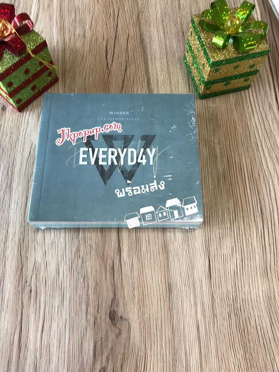 WINNER - Album Vol.2 [EVERYD4Y] หน้าปก DAY Ver. + โปสเตอร์ พร้อมกระบอกโปสเตอร์ พร้อมส่ง