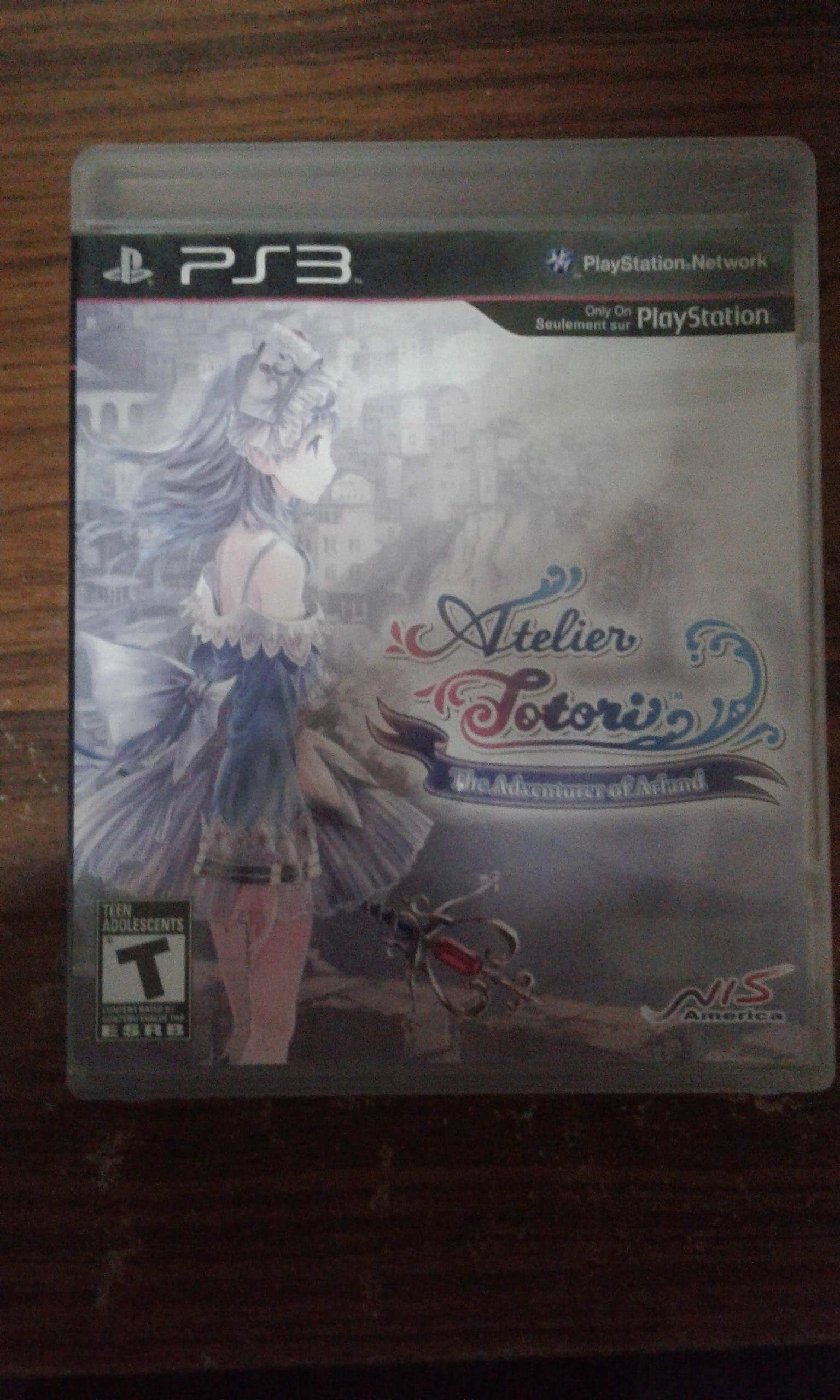 [PS3] Atelier Totori: The Adventurer of Arland [Z1][ENG][มือ2]