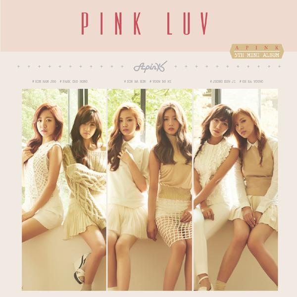 สินค้านักร้อง Apink - Mini Album Vol.5 [PINK LUV]