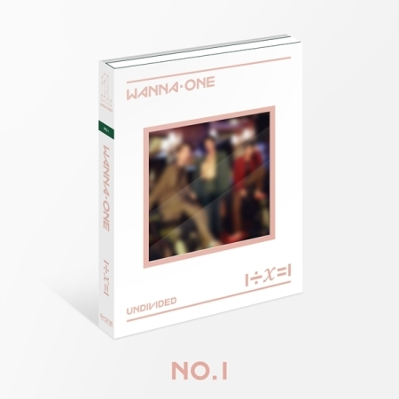 WANNA ONE - Special Album [1÷χ=1 (UNDIVIDED)] หน้าปก No.1 Ver.