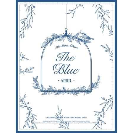 APRIL - Mini Album Vol.5 [The Blue] + โปสเตอร์พร้อมกระบอกโปสเตอร์