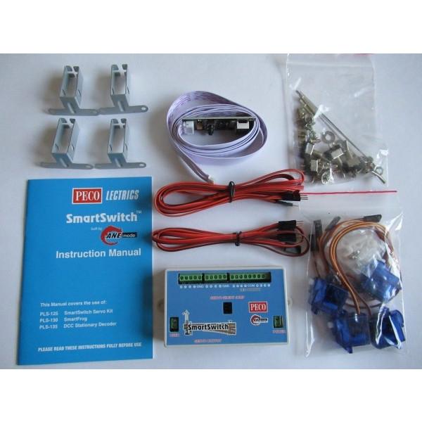 PLS100 Peco smart switch - ตัวสับรางแยกด้วยเซอร์โว