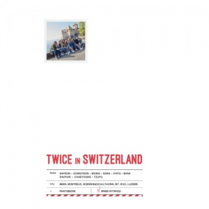 TWICE - TWICE TV5 TWICE in SWITZERLAND PHOTOBOOK พร้อมส่งค่ะ