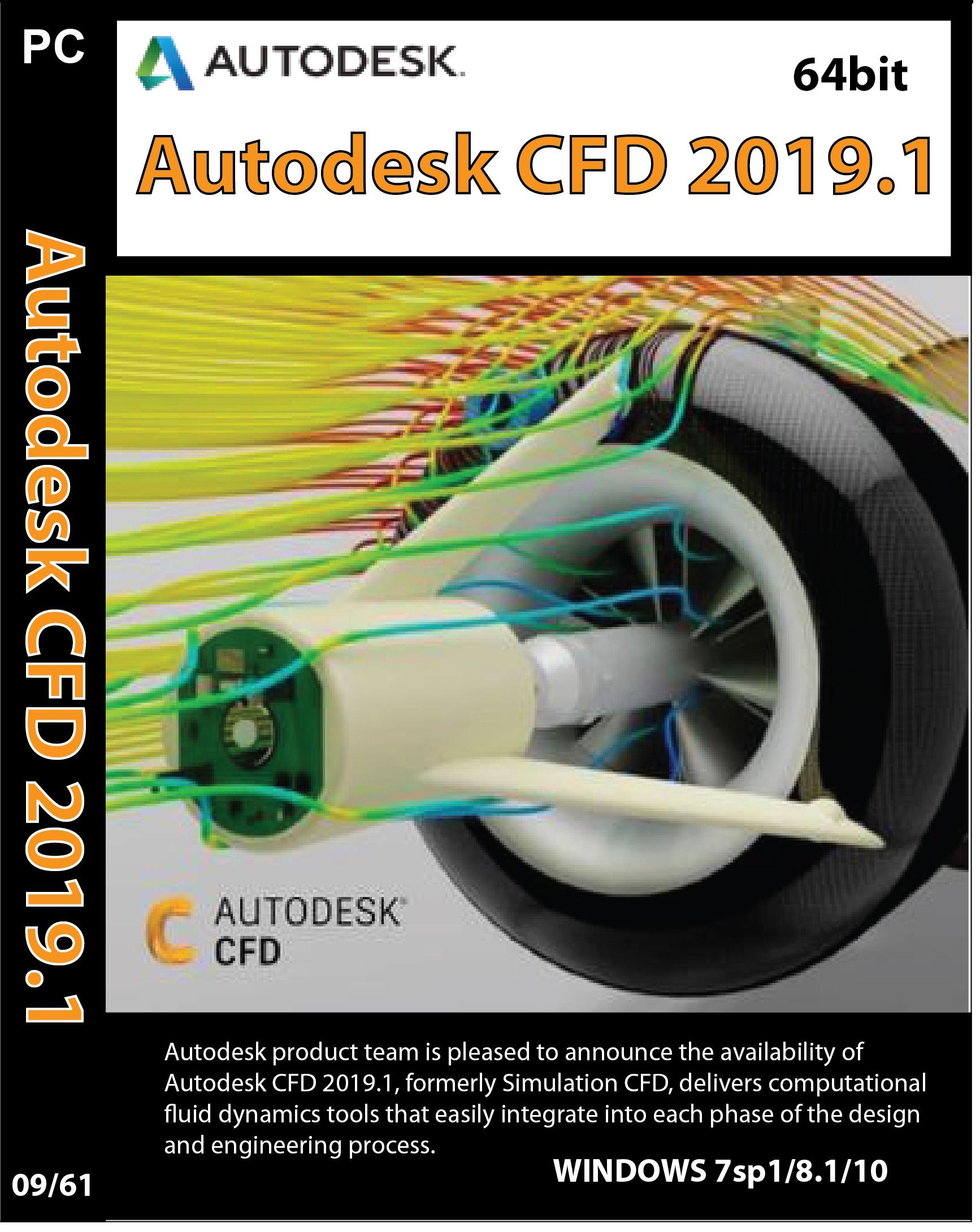 Autodesk CFD 2019-01