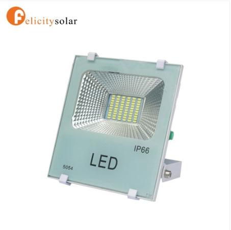 ไฟฟลัดไลท์ โซล่าเซลล์ 30W#Felicity Solar LED SMD Flood Light 30W