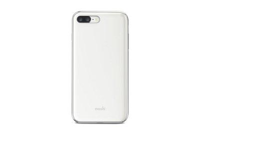 เคสกันกระแทก Moshi iGlaze for iPhone8Plus - Peal White สีขาว