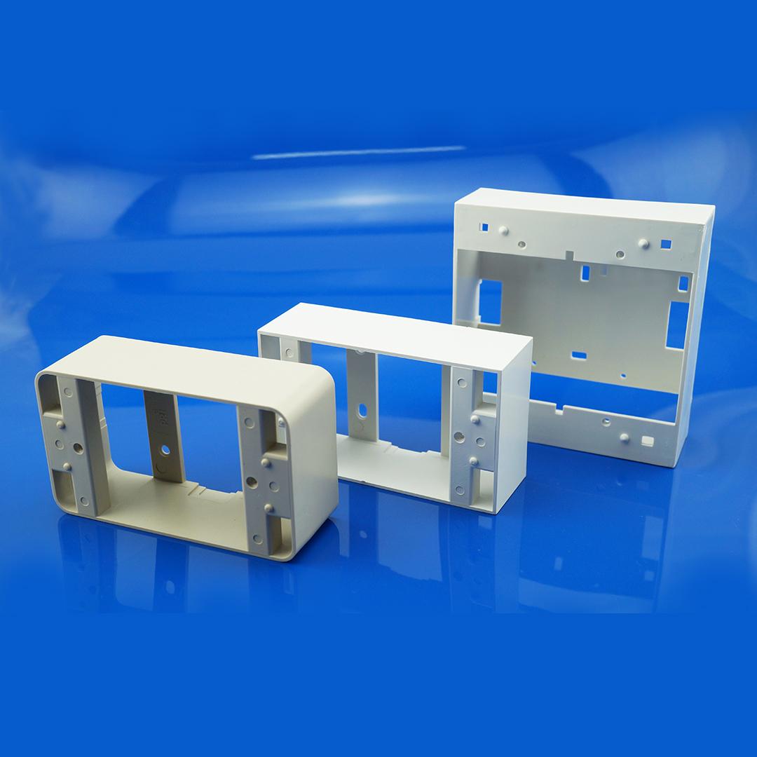 กล่องลอยพลาสติก 2x4 และ 4x4 Wall Mounted Plastic Box