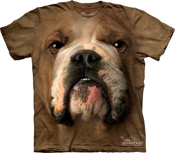 The Mountain Big Face Bulldog T-Shirts