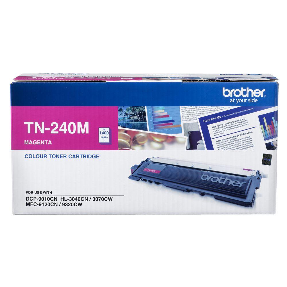 BROTHER TONER TN-240M สีแดง